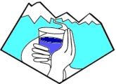 TIG Logo  Precious Water in a Glass, (c)1999 by Alice Clark