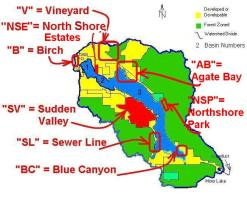 Watershed Trouble Spots Map